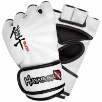 HAYABUSA IKUSA 4OZ MMA GLOVES - BLACK
