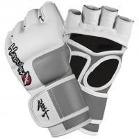HAYABUSA TOKUSHU 4OZ MMA GLOVES WHITE