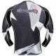 HAYABUSA METARU RASHGUARD LONGSLEEVE BLACK/WHITE