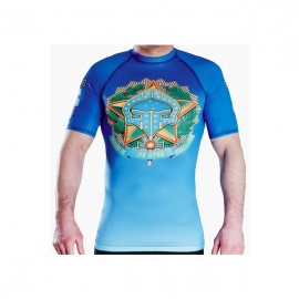GROUND GAME RASHGUARD IPANEMA - SHORT SLEEVE