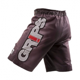 GRIPS JARAMA FIGHT SHORTS BLACK CARBON