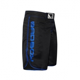 BAD BOY MMA SHORTS - BLACK/BLUE