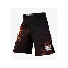 GROUND GAME LAVA MMA SHORTS