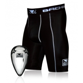 BAD BOY DEFENDER COMPRESSION SHORTS & CUP