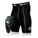 BAD BOY DEFENDER 2.0 COMPRESSION SHORTS & CUP