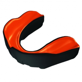 MAKURA MOUTH GUARD BLACK / ORANGE AGE 12+
