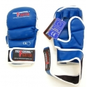 PROFESSIONAL FIGHTER MMA GLOVES BLUE 7oz