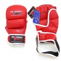 PROFESSIONAL FIGHTER MMA GLOVES RED 7oz