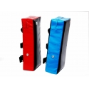 PROFESSIONAL FIGHTER KICK SHIELD BLUE / RED