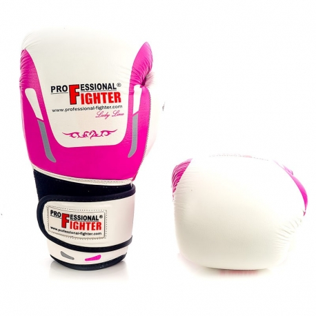 PROFESSIONAL FIGHTER BOXING GLOVES LADY LINE