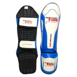 PROFESSIONAL FIGHTER SHIN PADS MODERN LINE BLUE