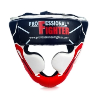PROFESSIONAL FIGHTER HEAD GUARD MODERN LINE RED