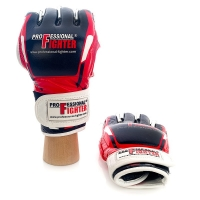 PROFESSIONAL FIGHTER MMA GLOVES MODERN LINE RED 4oz