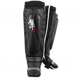 HAYABUSA IKUSA SHIN GUARDS BLACK