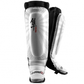 HAYABUSA IKUSA SHIN GUARDS WHITE