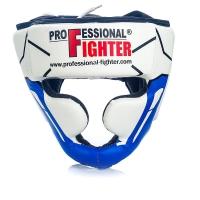 PROFESSIONAL FIGHTER HEAD GUARD MODERN LINE BLUE