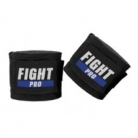 FIGHT PRO HAND WRAPS BLACK