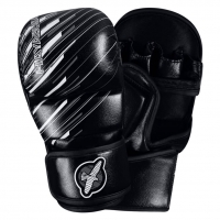 HAYABUSA IKUSA CHARGED 7OZ HYBRID GLOVES - BLACK