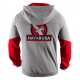 HAYABUSA WINGBACK HOODIE GREY / RED