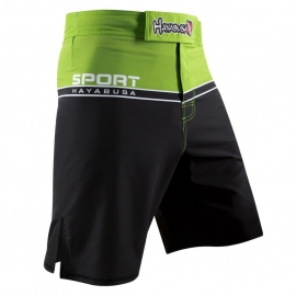 HAYABUSA SPORT TRAINING SHORTS GREEN