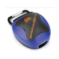 SHOCK DOCTOR ANTI-MICROBIAL MOUTHGUARD CASE BLUE