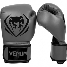 VENUM CONTENDER BOXING GLOVES GREY