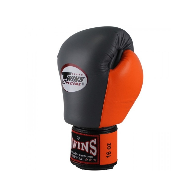 10oz Limited Edition Twins Special Boxing Gloves Black//Silver