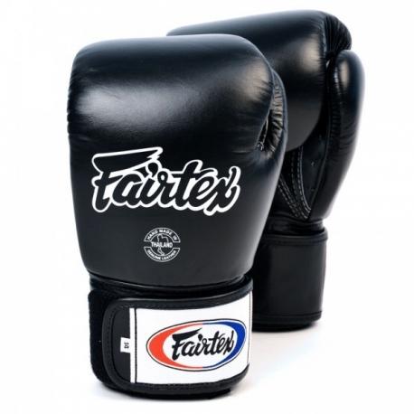 Fairtex X Glory Black Limited Edition Velcro Muay Thai Boxing BGVG2 Gloves